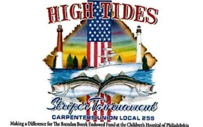 HIGH TIDES STRIPER TOURNAMENT 11.12.16
